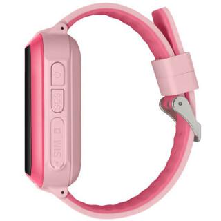 辣小新二代T02A电话手表 小辣椒出品儿童智能手表360安全防护移动联通电信4G远程拍照GPS智能定位手表粉色