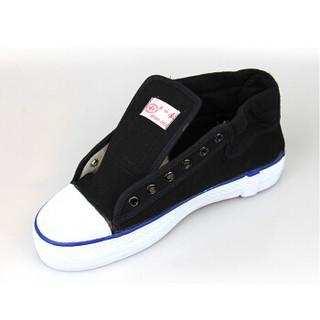 双安 劳保鞋男女 15KV电绝缘 由棉布橡胶制成 适用于12KV及以下的电器设备施工维修作业 黑色 42码