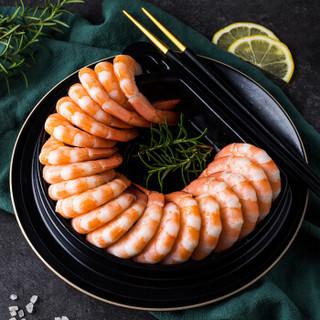 KINGOSCAR 原装进口熟冻凤尾虾+甜辣酱(BAP认证/无添加)257g 盒装 海鲜水产
