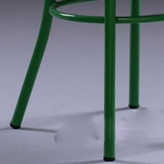 卡奈登 餐厅椅子美式复古金属餐椅饭店彩色座椅促销 靠背铁艺loft多种颜色酒吧椅 XLY-139 绿色