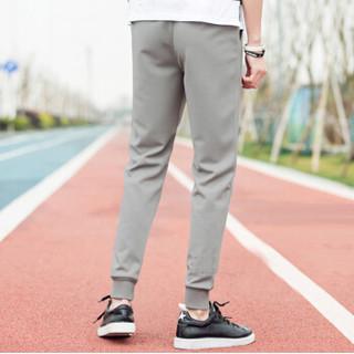 金盾(KIN DON)休闲裤  新款男士时尚运动百搭休闲长裤713-K1762灰色3XL