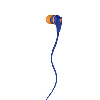 骷髅头(Skullcandy)INKD 1.0 入耳式音乐耳机 时尚街头男女通用耳塞 京东限定款 尼克斯配色