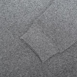 KENZO 高田贤三 男士煤灰色棉质圆领长袖卫衣 F00 5SW132 4MD 98 M码