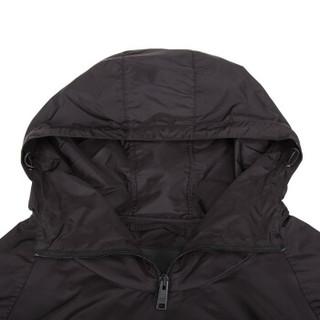 PRADA 普拉达 PRADA 普拉达 男士黑色锦纶连帽套头上衣 SGN790 Q04 F0002 S 182 XL码