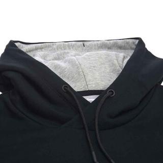 LI-NING 李宁 AWDN187-3 运动生活系列 男 秋冬季 卫衣类 标准黑 M