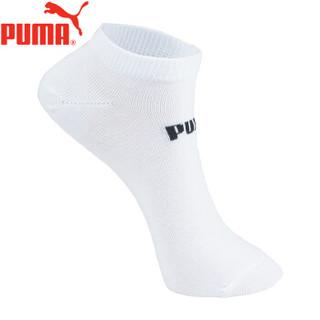 PUMA彪马袜子女士基本船袜3双装161905356 300白 均码(22-24cm)