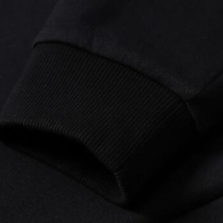 LI-NING 李宁 AWDNC71-2 运动生活系列 男 卫衣类 标准黑 XXL