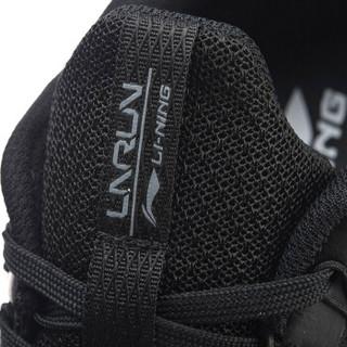 LI-NING 李宁 ARBN059-2 跑步系列 男 跑步鞋类 标准黑/标准白 39.5