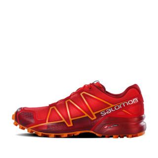 SALOMON 萨洛蒙 跑步 20413404657HA0040 男款越野跑鞋-Speedcross 4 M 404657 High Risk Red(激进红) 40