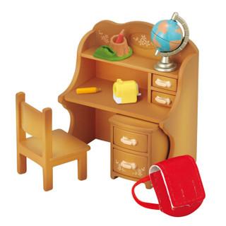 森贝儿家族儿童玩具女孩礼物过家家公主娃娃玩具房子甜梦小屋温馨家具套5220
