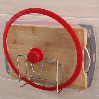 佳佰 厨房置物架 免打孔锅盖架砧板架不锈钢菜板收纳架