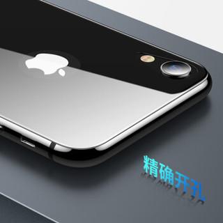 依斯卡(ESK) 苹果xr手机钢化膜 iphone xr钢化膜后膜 全屏膜覆盖 曲面玻璃 6.1英寸高清手机防爆背膜 JM565黑
