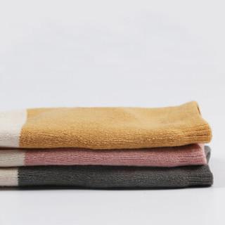 9i9久爱久婴儿袜子宝宝地板袜加厚毛圈3双装S(0-2岁)1800862