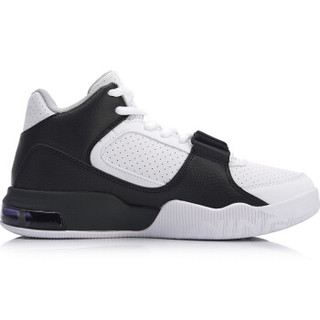 LI-NING 李宁 运动时尚系列 女 运动时尚鞋 AGBN014-2 标准黑/标准白 39