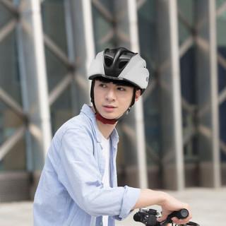 思玛特(Smart4u) SH30智能电动车头盔男女自行车头盔平衡车滑板车骑行头盔蓝牙音乐一体成型安全帽 L