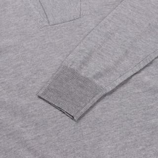CANALI 康纳利 男士灰色羊毛长袖针织衫 C0621 MK00609 202 54码