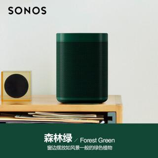 Hay Sonos One 家庭智能音响系统 合作限量款-森林绿