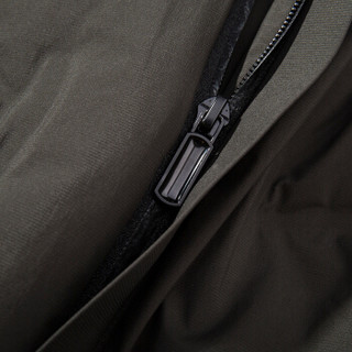 U.S. POLO ASSN. 羽绒服 男青年加厚保暖连帽保暖男士外套 P01640002 墨绿色 XL/180