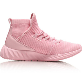 LI-NING 李宁 运动时尚系列 女 运动时尚鞋 AGLN214-3 新珊瑚粉 39