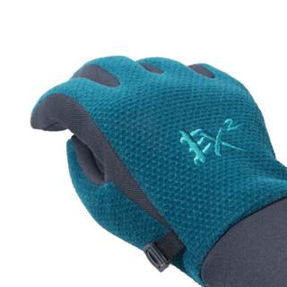 EX2 伊海诗 情侣秋冬户外运动便装手套跑步骑行生活保暖手套 133128662691013XL 深蓝 XL