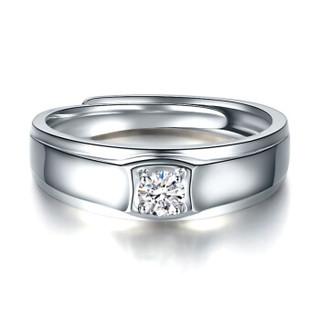 鸣钻国际 告白 钻石对戒 钻石戒指结婚求婚 情侣对戒