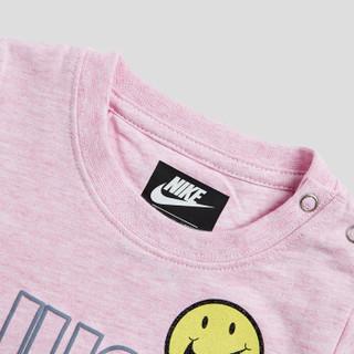 耐克Nike YA女幼小婴儿童长袖连体服新款春秋装爬爬服连身衣83462SE873