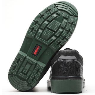 维致 劳保鞋男透气轻便 绝缘工地6KV安全功能靴 WZ2007黑色44