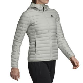 adidas 阿迪达斯 女子 户外系列 W VARILITE SO H 运动 羽绒服 CY8734 M码 浅绿色