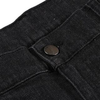 VERSACE COLLECTION 范思哲 奢侈品 男士黑灰色棉氨纶牛仔裤 V600367S VT01915 V8008 31码