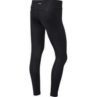 李宁 LI-NING AULN122-1 训练系列 女 紧身衣 标准黑 XS