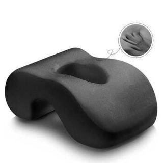 南极人(NanJiren)抱枕靠垫 办公室午休抱枕小学生趴睡枕午睡神器 午睡枕 银灰色 清新竹炭款 35*24*14cm
