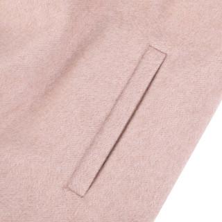 MAX MARA STUDIO 麦丝玛拉 女士烟粉色混纺休闲大衣 PRUSSIA 010 42