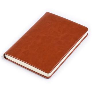 正彩(ZNCI)变色PU多彩随身商务笔记本/加厚日记本/50k皮面记事本/复古办公会议本 办公文具 4330棕色