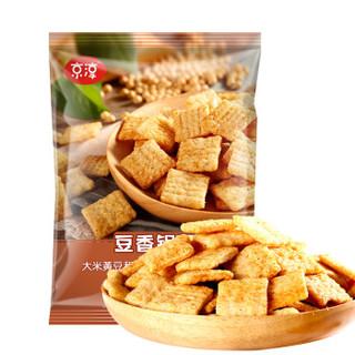 京东自有品牌 京淳 豆香锅巴混箱装60g*24袋(麻辣味+烧烤味+牛肉味)