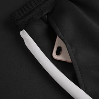 稻草人(MEXICAN)卫衣男套装2018秋冬新品连帽运动套装长袖套衫时尚韩版外套束脚裤 灰色 3XL