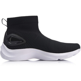 LI-NING 李宁 运动时尚系列 女 运动时尚鞋 AGLN142-2 标准黑/标准白 35
