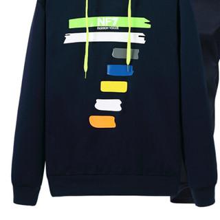 吉普盾 运动套装男2019春季新款青年休闲卫衣开衫外套潮流运动裤两件套 灰色 4XL