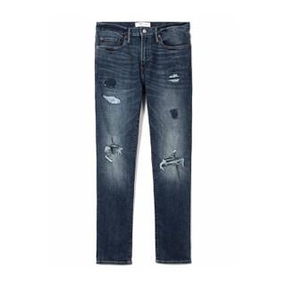 Gap旗舰店 男装 男装男士牛仔裤水洗做旧长裤 935956  31X30