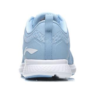 LI-NING 李宁 逐风女子 耐磨防滑减震 跑步系列 跑步鞋类 ARHN234-4 极光蓝 40