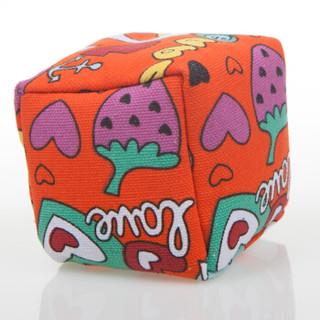 米字熊 儿童沙包卡通型 7cm立体沙袋 帆布丢沙包 幼儿园小学投掷游戏玩具 3个装