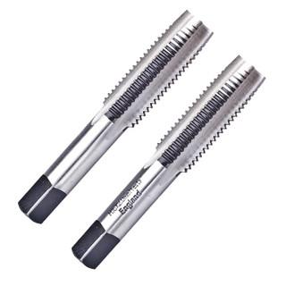 百事通(PRESTO)进口碳钢直槽丝攻M18X2.5公制手用丝锥 三支装