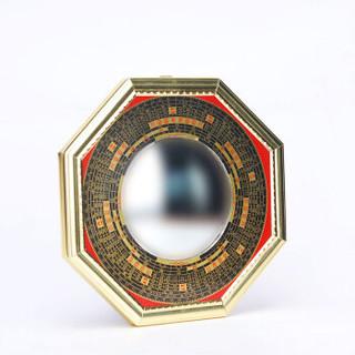 星光缘 八卦镜凸镜风水摆件挂件中号17.5厘米