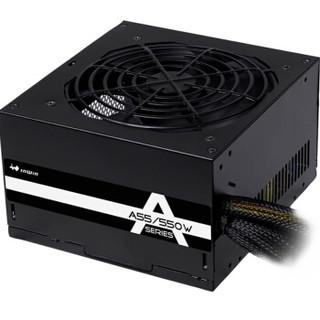 迎广(IN WIN)额定550W  A55 台式机电脑电源(80PLUS认证/12cm静音风扇/主动PFC)