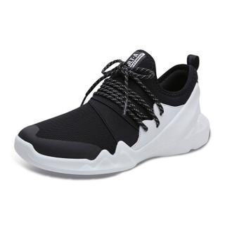 SKECHERS 斯凯奇 D'LITES系列 熊猫鞋一脚蹬时尚潮 88888157-BKW 黑色/白色 36