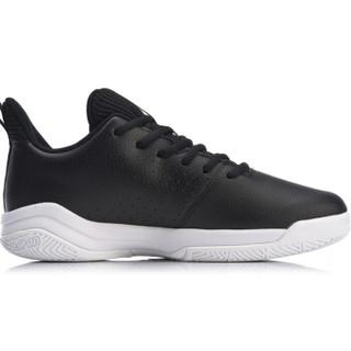 LI-NING 李宁 篮球系列 男篮球鞋类 ABPN021-5  标准黑/赤金色/标准白 44