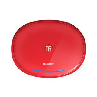 喜马拉雅好声音 晓雅车载 车载智能语音助手 语音操控 蓝牙语音电话 支持网络连接移动版 红色