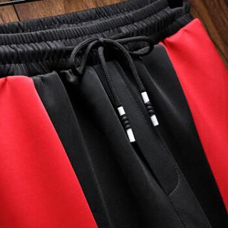 卡帝乐鳄鱼(CARTELO)卫衣套装男2018新款韩版潮流青少年衣服运动休闲连帽外套男装 18030KE03 白色 XL
