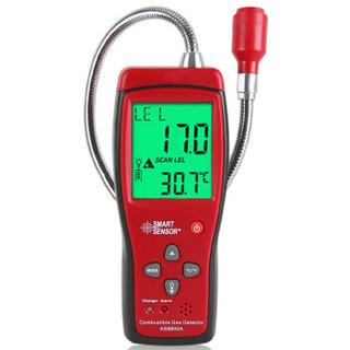 希玛AS8800A 可燃气体检测仪 数显易燃气检漏仪液化气沼气声光报警器