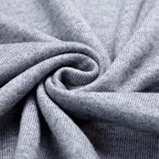 卡帝乐鳄鱼(CARTELO)马甲  男士时尚休闲V领羊毛衫背心马甲C416-1-A33浅灰色M
