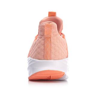 LI-NING 李宁 ARHN258-5 跑步系列 女 跑步鞋类 桃芽红/标准白 35.5